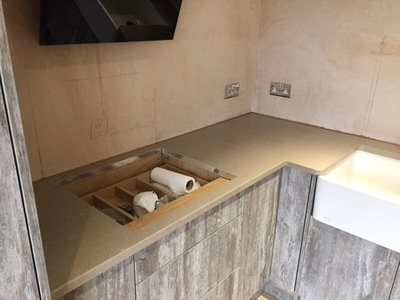 Coral Clay Silestone Wales The Marble Warehouse