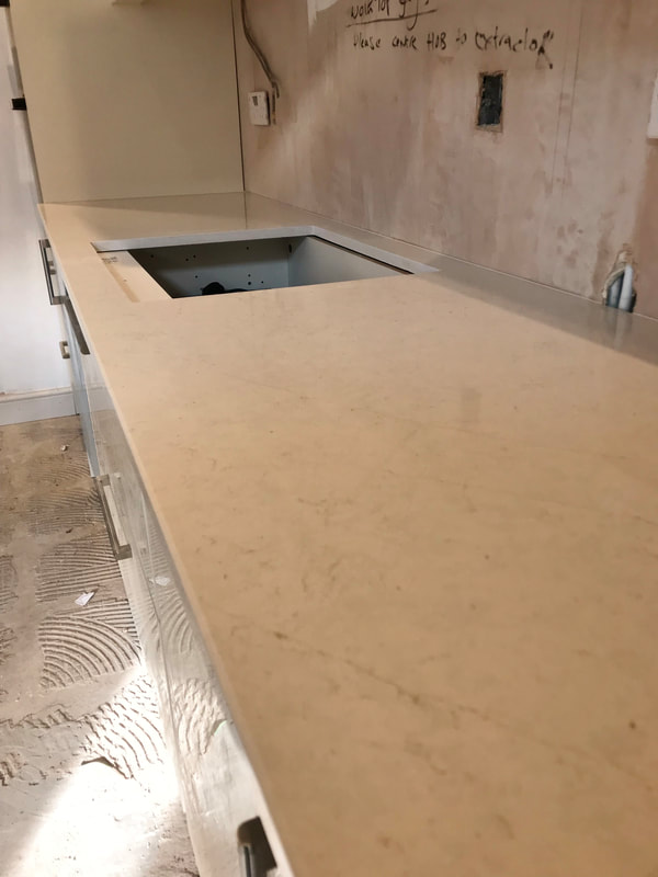 Eternal Marfil Silestone Worktops Wales The Marble Warehouse