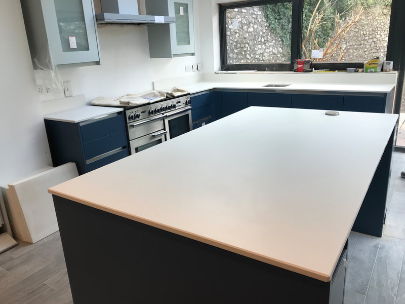Dekton Nayla Worktops Wales The Marble Warehouse