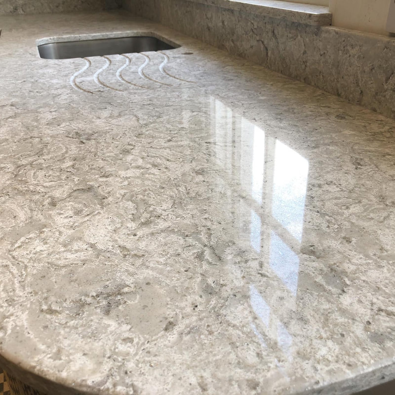 Fiji Classic Quartz Worktops Wales The Marble Warehouse