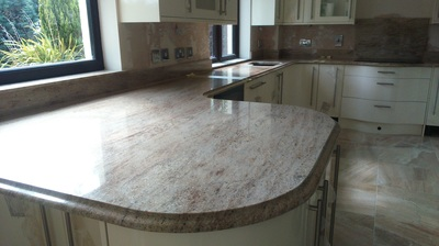 Advantages of natural granite the marble warehouse for Q kitchen pontypridd