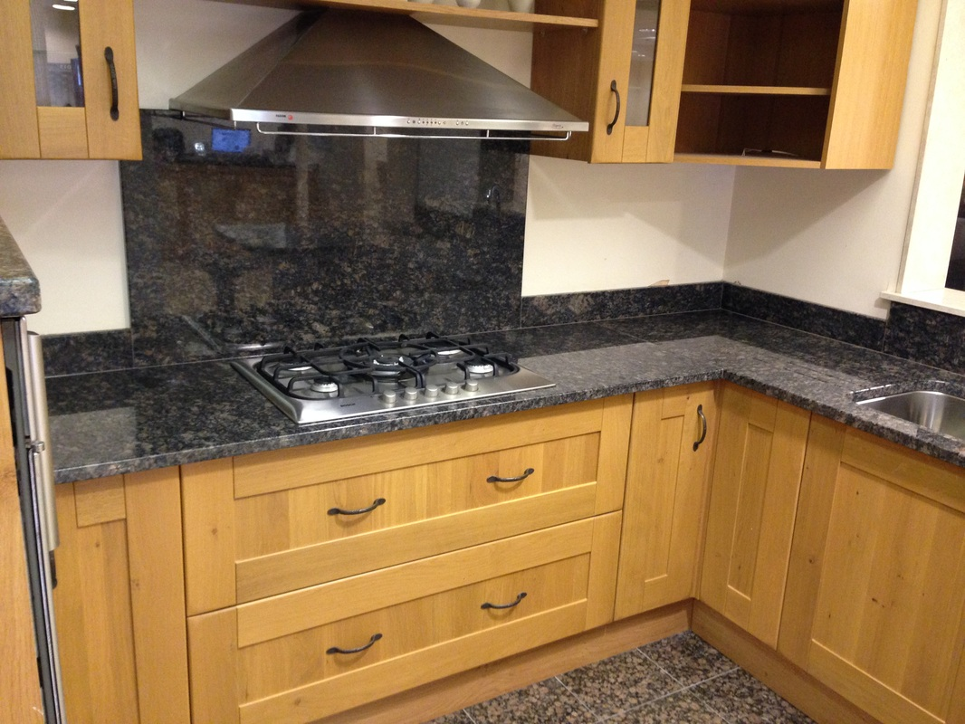 Sapphire brown natural granite the marble warehouse for Q kitchen pontypridd