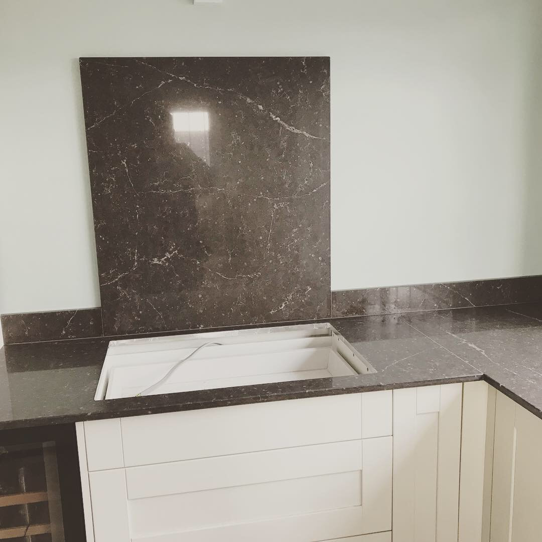Eternal Emperador Silestone Worktops Wales The Marble